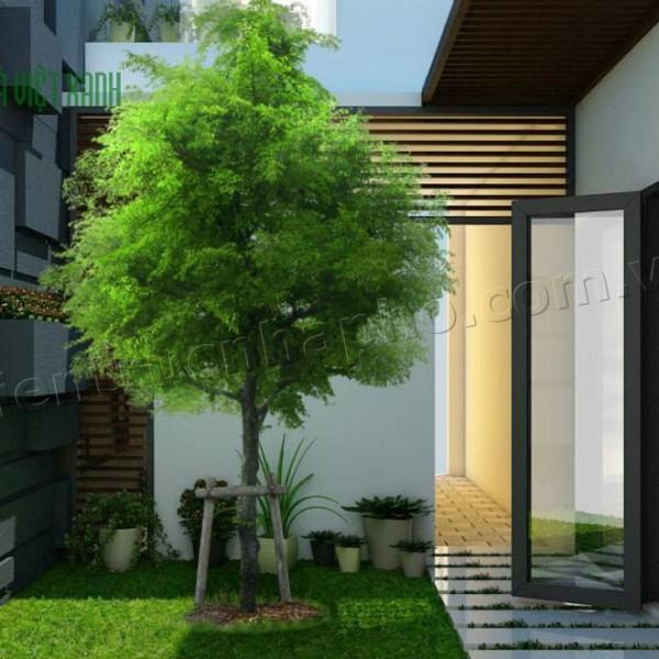 Mẫu thiết kế nhà phố hiện đại tại Bình Dương 5
