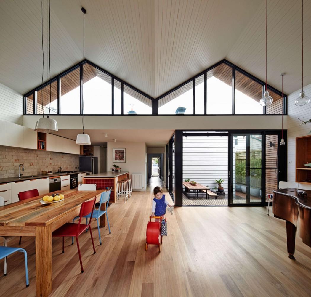 Thiết kế nhà phố lạ mắt ở New Zealand 2
