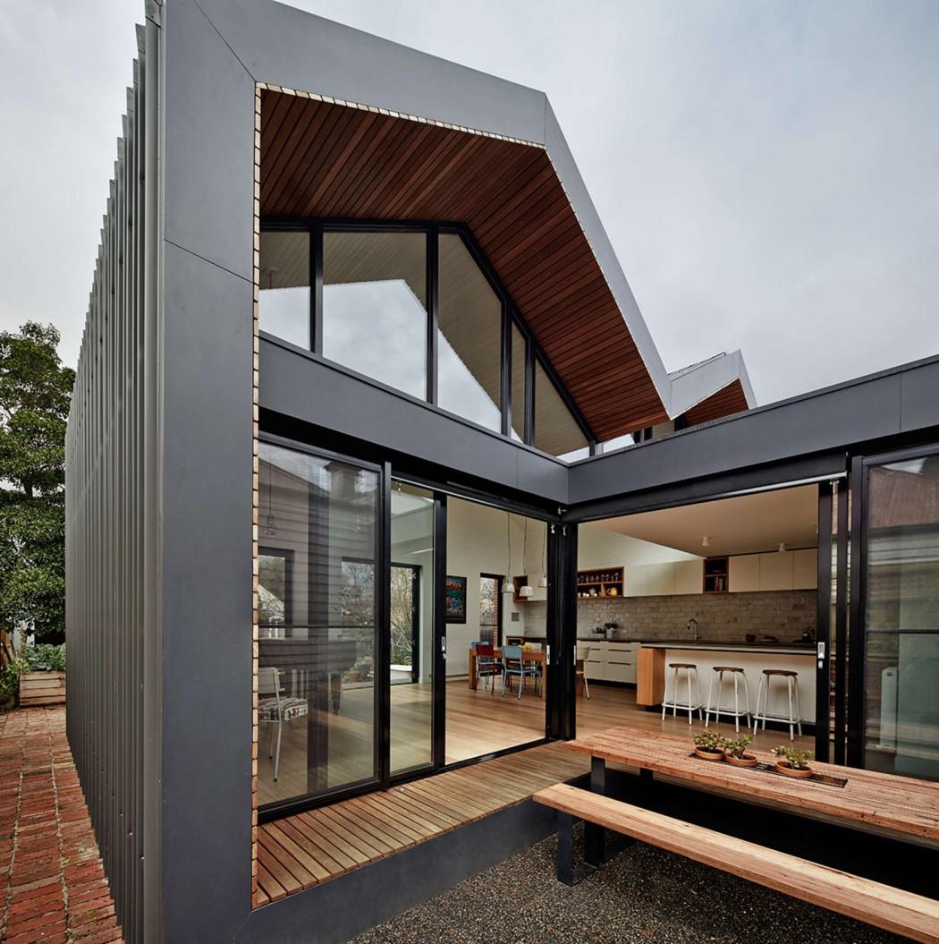 Thiết kế nhà phố lạ mắt ở New Zealand
