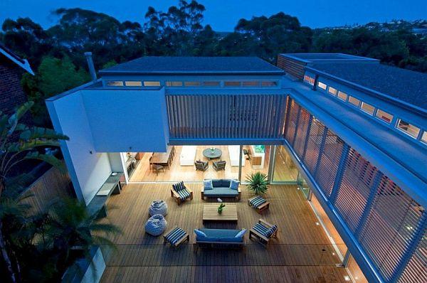 Thiết kế biệt thự 500m2 hiện đại ở Australia 2
