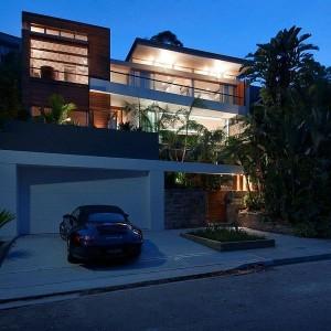 Thiết kế biệt thự 500m2 hiện đại ở Australia