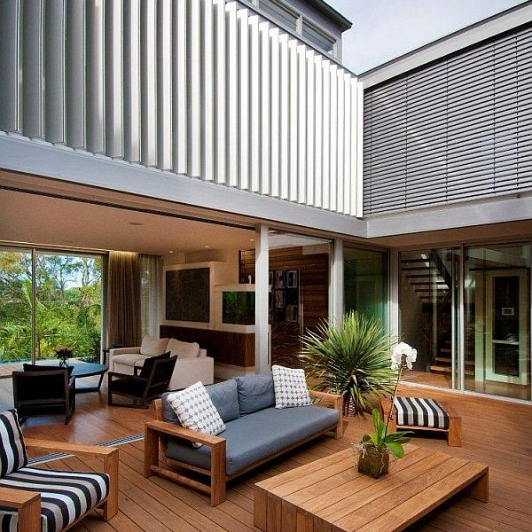 Thiết kế biệt thự 500m2 hiện đại ở Australia 4