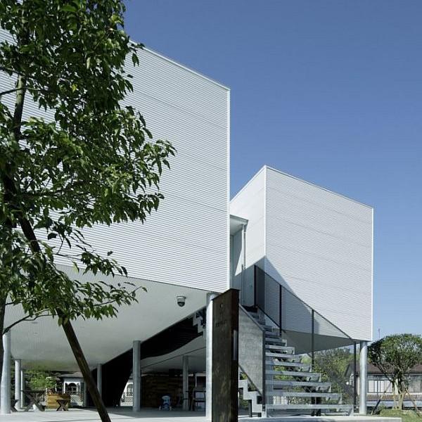 Thiết kế biệt thự 90m2 hiện đại ở Fukushima 2