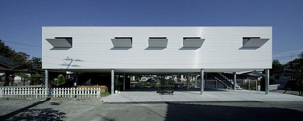 Thiết kế biệt thự 90m2 hiện đại ở Fukushima 3