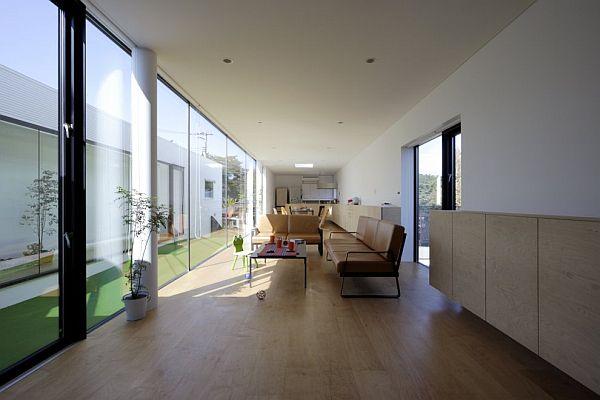 Thiết kế biệt thự 90m2 hiện đại ở Fukushima 6