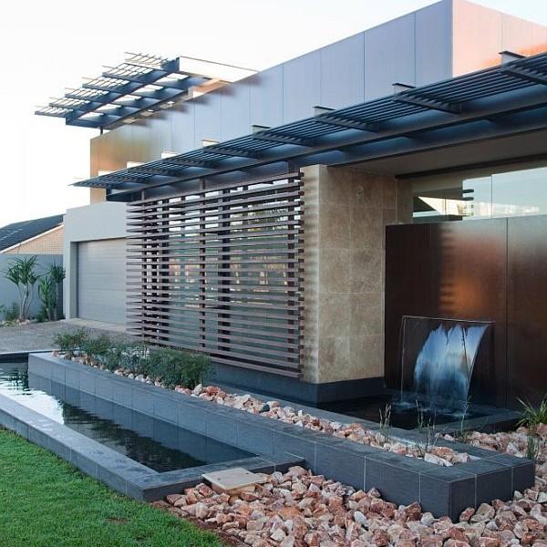 Thiết kế biệt thự có bể bơi trong nhà siêu hiện đại 5