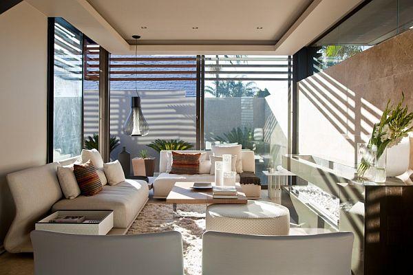 Thiết kế biệt thự có bể bơi trong nhà siêu hiện đại 7