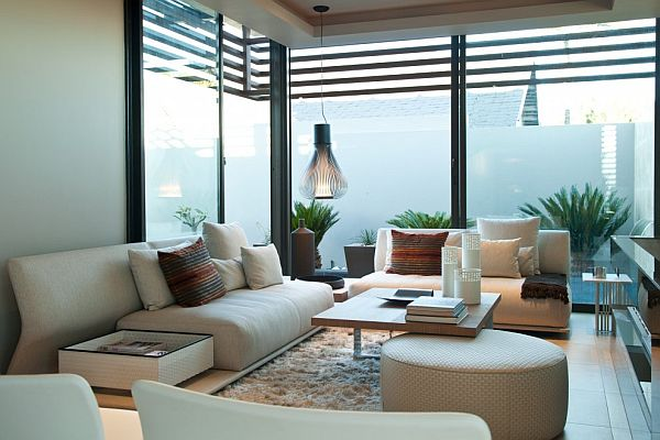 Thiết kế biệt thự có bể bơi trong nhà siêu hiện đại 9