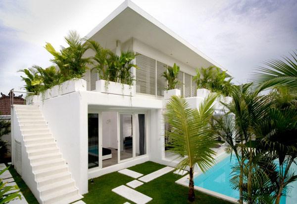 Thiết kế biệt thự hiện đại 2 tầng ở Bali 5