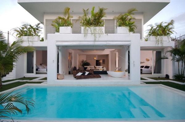 Thiết kế biệt thự hiện đại 2 tầng ở Bali