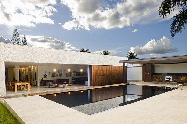 Thiết kế biệt thự hiện đại ở Brasília, Brazil 3