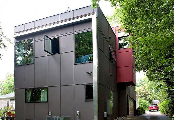 Thiết kế biệt thự hiện đại ở Charlotte, North Carolina 3