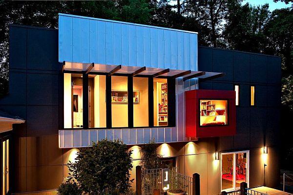Thiết kế biệt thự hiện đại ở Charlotte, North Carolina