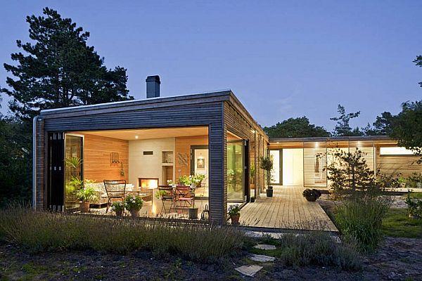 Thiết kế biệt thự hiện đại ở Höllviken, Thụy Điển