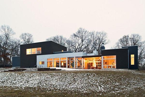 Thiết kế biệt thự hiện đại ở Minnesota