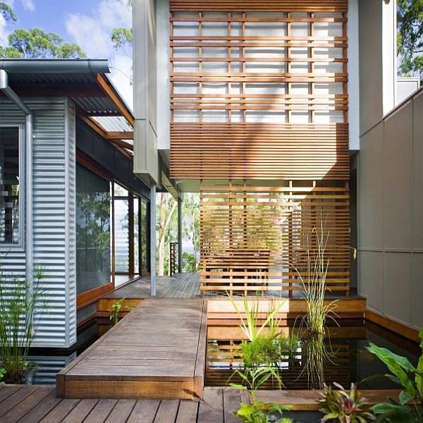 Thiết kế biệt thự vườn hiện đại ở Australia 2