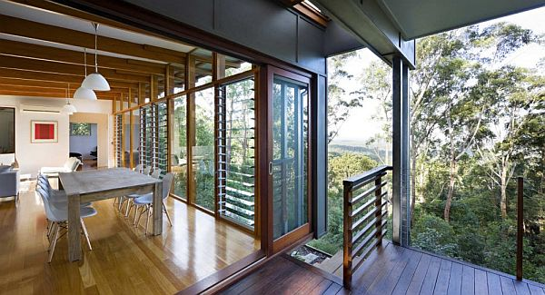 Thiết kế biệt thự vườn hiện đại ở Australia 8