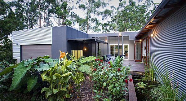 Thiết kế biệt thự vườn hiện đại ở Australia 9