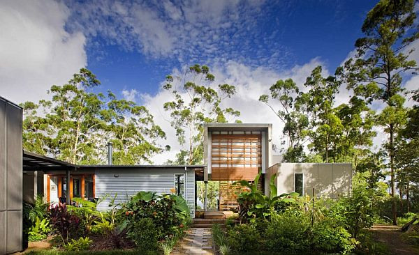 Thiết kế biệt thự vườn hiện đại ở Australia