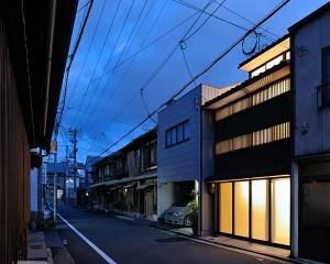 Thiết kế nhà phố 2 tầng ở Kyoto, Nhật Bản