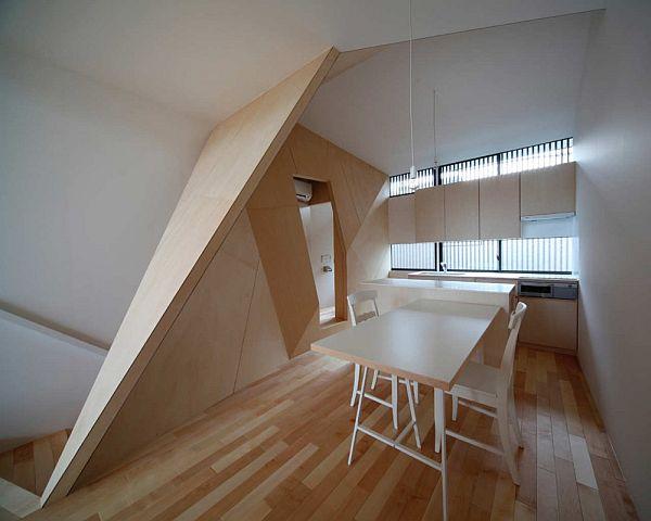 Thiết kế nhà phố 2 tầng ở Kyoto, Nhật Bản 4