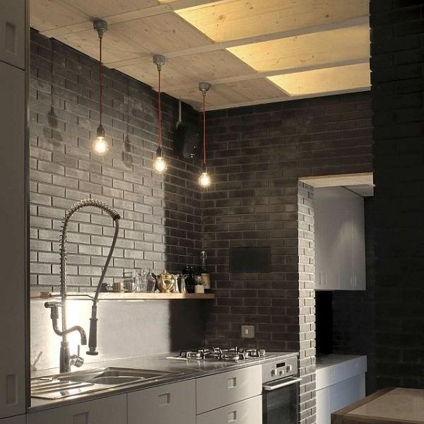 Thiết kế nhà phố nhỏ đẹp với gạch tối màuThiết kế nhà phố nhỏ đẹp với gạch tối màu 4