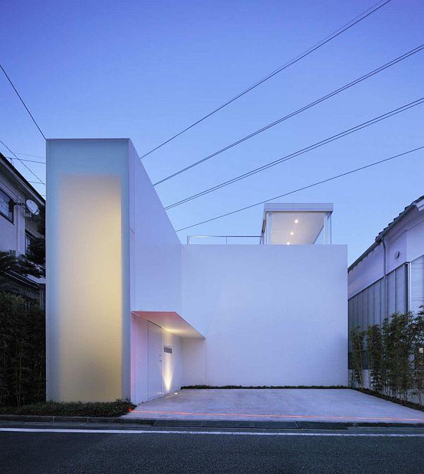 Thiết kế nhà phố như biệt thự cao cấp