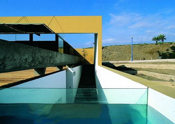 Mẫu biệt thự có bể bơi độc đáo ở tỉnh Canete, Peru 4
