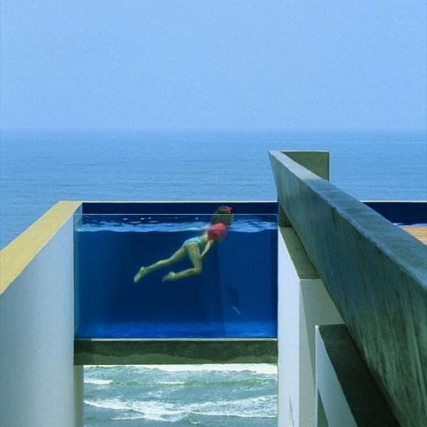 Mẫu biệt thự có bể bơi độc đáo ở tỉnh Canete, Peru