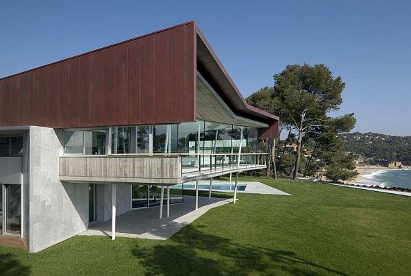 Mẫu biệt thự hiện đại ven biển nằm ở Calonge,Tây Ban Nha 2