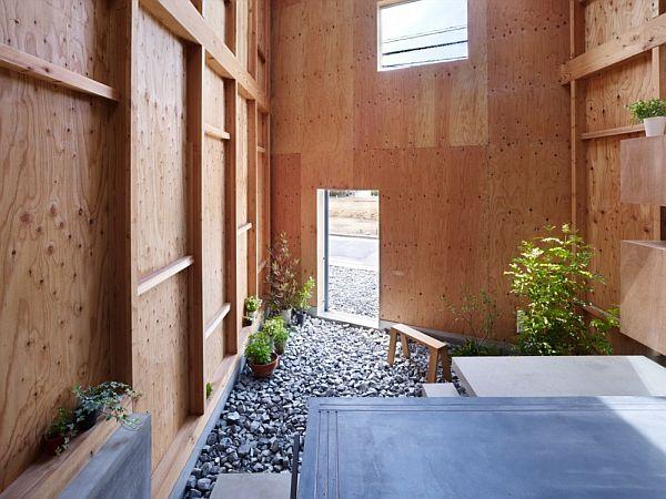 Mẫu nhà phố hòa hợp với thiên nhiên ở Nhật Bản 4