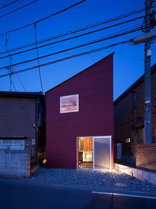 Mẫu nhà phố hòa hợp với thiên nhiên ở Nhật Bản