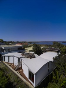 Mẫu thiết kế biệt thự đẹp hướng ra sông ở Perth, Australia. 2
