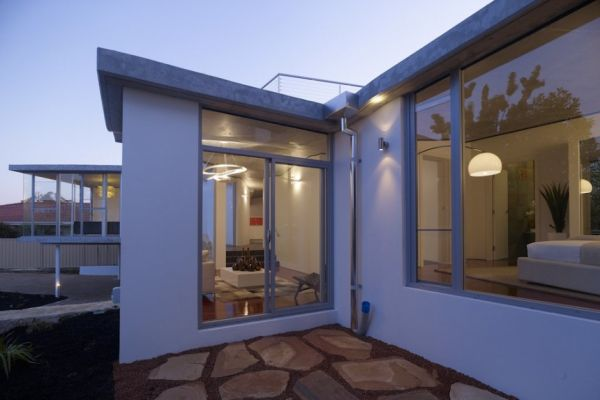 Mẫu thiết kế biệt thự đẹp hướng ra sông ở Perth, Australia. 3