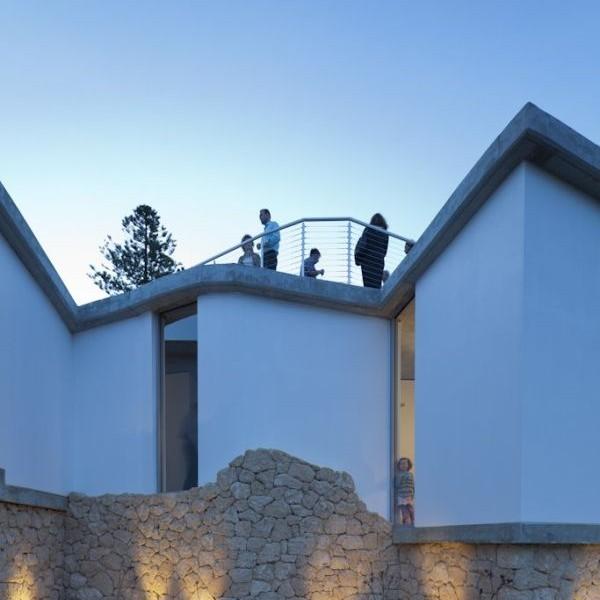 Mẫu thiết kế biệt thự đẹp hướng ra sông ở Perth, Australia. 4
