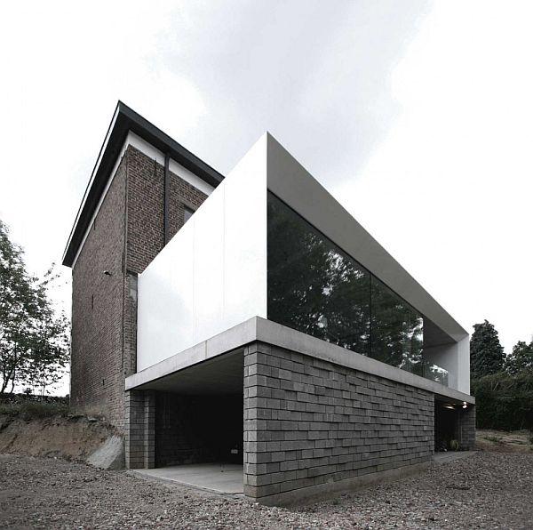Mẫu thiết kế biệt thự quy hoạch cũ thành mới ở Bỉ 2