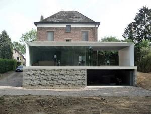 Mẫu thiết kế biệt thự quy hoạch cũ thành mới ở Bỉ