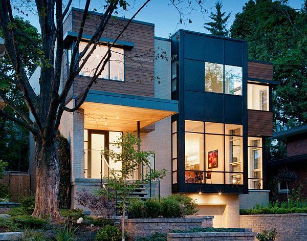 Nhà phố với thiết kế nội thất đẹp ở Ottawa, Ontario, Canada. 2
