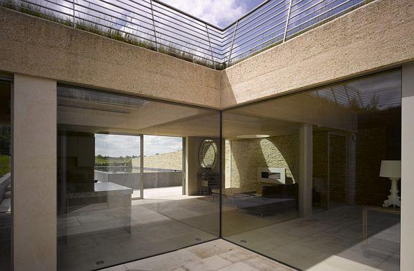 Thiết kế biệt thự đẹp ẩn dưới tòa tháp tròn ở Anh 3