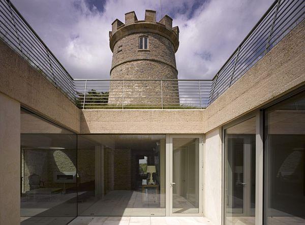 Thiết kế biệt thự đẹp ẩn dưới tòa tháp tròn ở Anh 4