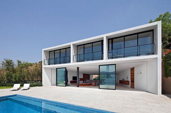 Thiết kế biệt thự 2 tầng tuyệt đẹp ở Valle de Bravo, Mexico. 4