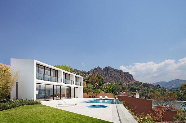 Thiết kế biệt thự 2 tầng tuyệt đẹp ở Valle de Bravo, Mexico. 5