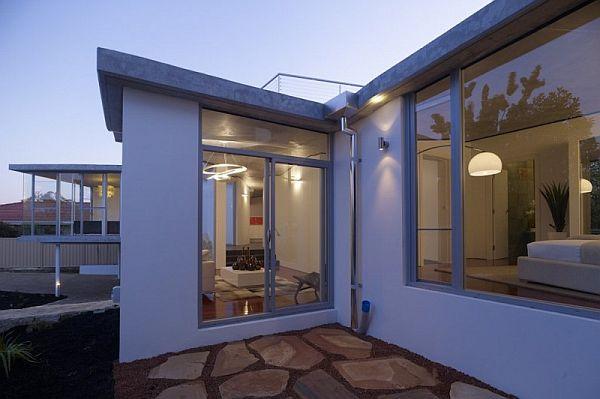 Thiết kế biệt thự 2 tầng với thiết kế hiện đại nằm ở Perth, Tây Úc 2