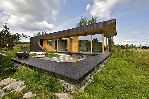 Thiết kế biệt thự bắt mắt với cấu trúc bởi Tommie Wilhelmsen