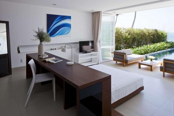 Thiết kế biệt thự cạnh biển mát mẻ với nội thất sang trọng [2]