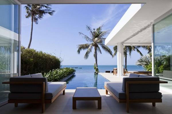 Thiết kế biệt thự cạnh biển mát mẻ với nội thất sang trọng [4]