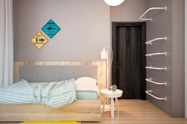 Thiết kế biệt thự cho gia đình trẻ yêu thích vật liệu công nghiệp [14]