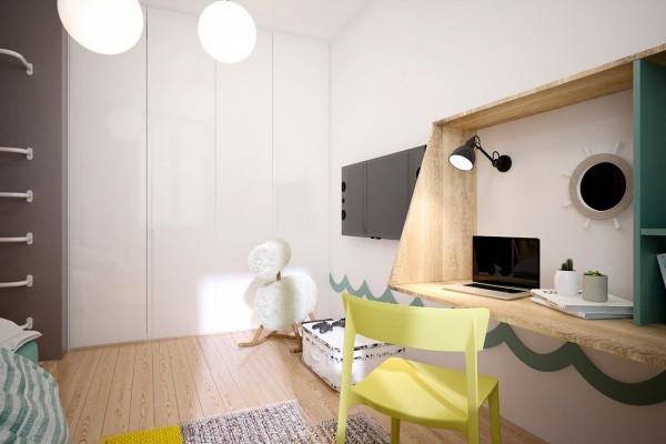 Thiết kế biệt thự cho gia đình trẻ yêu thích vật liệu công nghiệp [8]