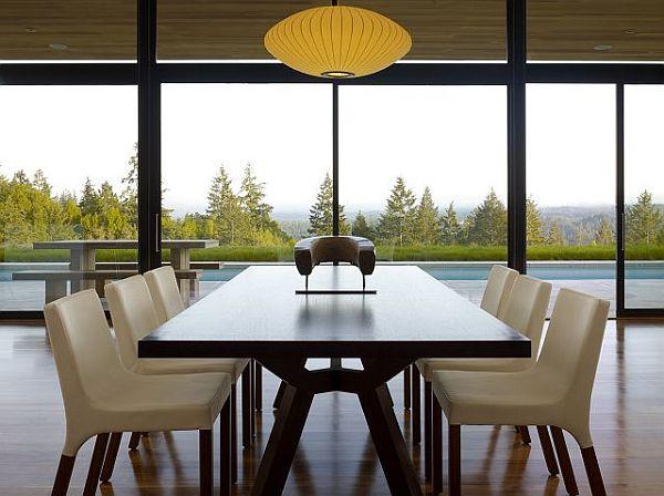 Thiết kế biệt thự hiện đại lồng vào thiên nhiên tại USA 3