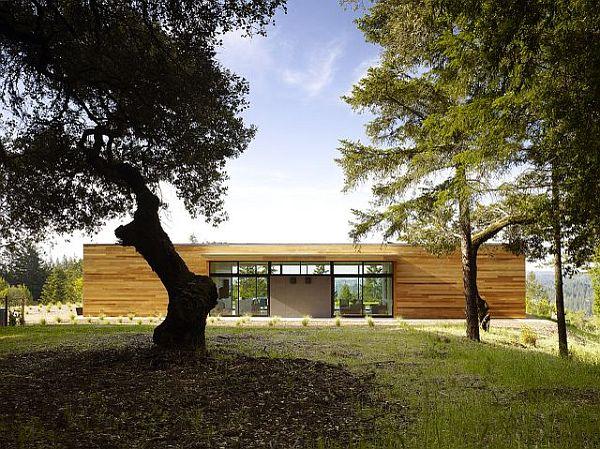 Thiết kế biệt thự hiện đại lồng vào thiên nhiên tại USA 6